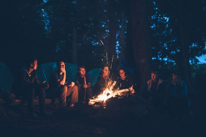 Wild Camping and Campgrounds Cheap Travel Accommodation