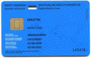 Estonian e-Residency Sample
