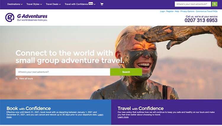 G Adentures  Travel Tour Company