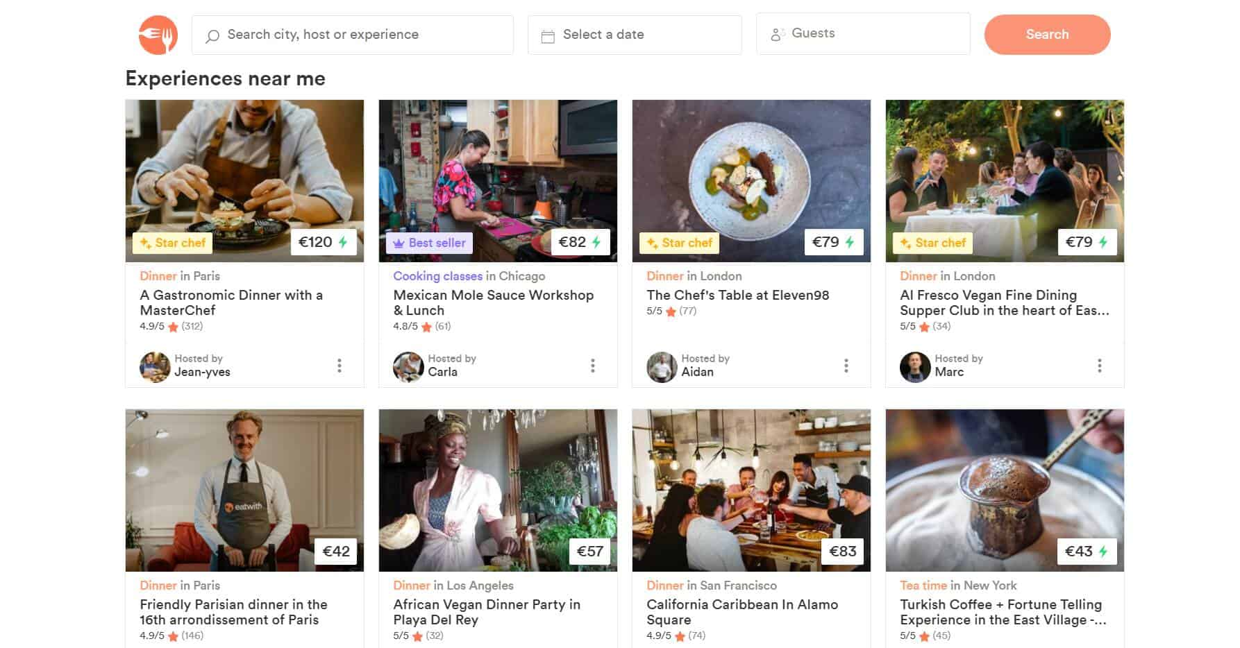 Eatwith Culinary Travel Company