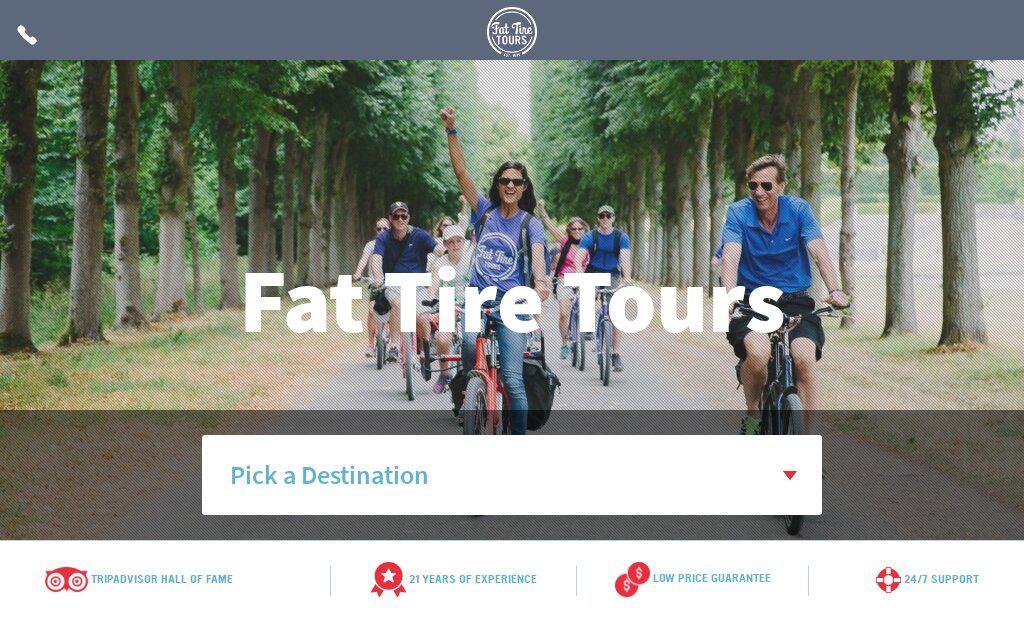 Fat Tire Tours Guide Bike Company